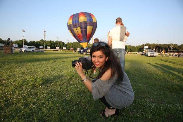 Festival delle mongolfiere all'Ippodromo di Cesena  (foto Ravaglia)