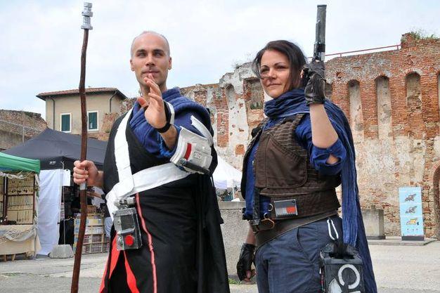 Labronicon 2018, i cosplayer in Fortezza Vecchia (foto Simone Lanari)
