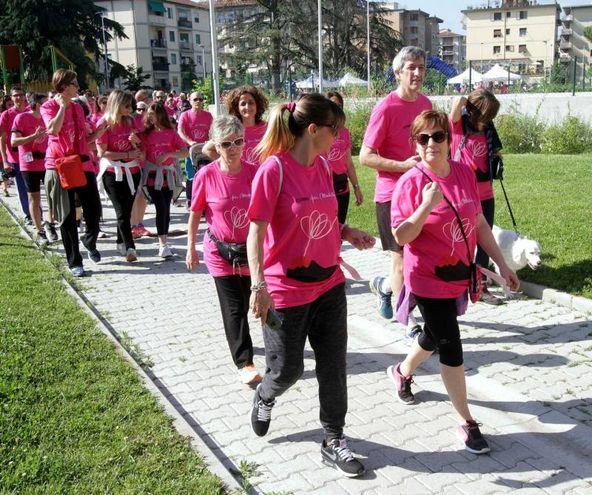 Corri per Michela (foto Umberto Visintini/New Pressphoto)