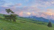 Il suggestivo tramonto immortalato da Simone Gatto