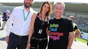 Aida Yespica con Uberto Selvatico Estense e Ringo