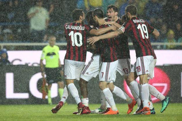 Atalanta-Milan 0-1, Kessie (Ansa)