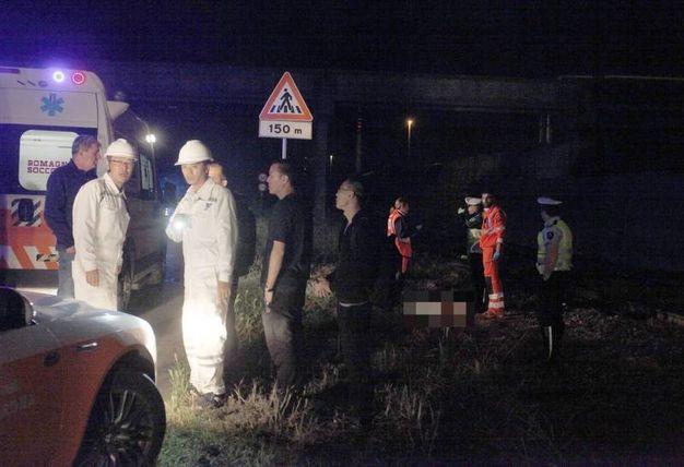 Tragedia in via Baiona (foto Corelli)