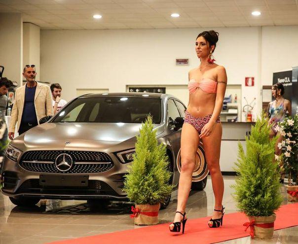 Grande successo e tanta partecipazione alla presentazione della nuova Mercedes Classe A (Fotoprint)