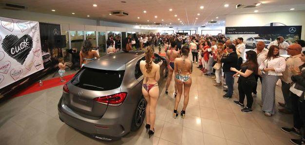 Grande successo e tanta partecipazione alla presentazione della nuova Mercedes Classe A