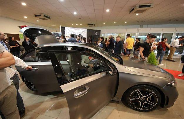 Mercedes in mostra (Fotoprint)
