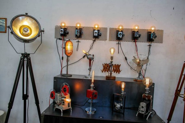 Arredo luce con un tocco di creatività (Foto PasqualeBove)
