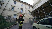 Crollo del tetto dell'Iti