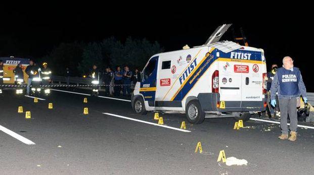 La rapina al portavalori della Fitist del 30 settembre del 2015