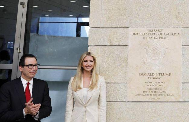Ivanka Trump inaugura l'ambasciata Usa a Gerusalemme (Lapresse)
