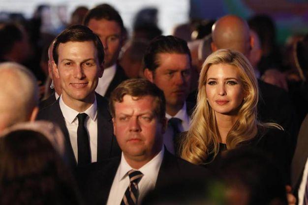 Ivanka Trump e Jared Kushner all'inaugurazione dell'ambasciata Usa a Gerusalemme (Ansa)