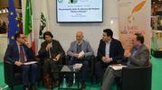 Cacciari durante la presentazione a Torino