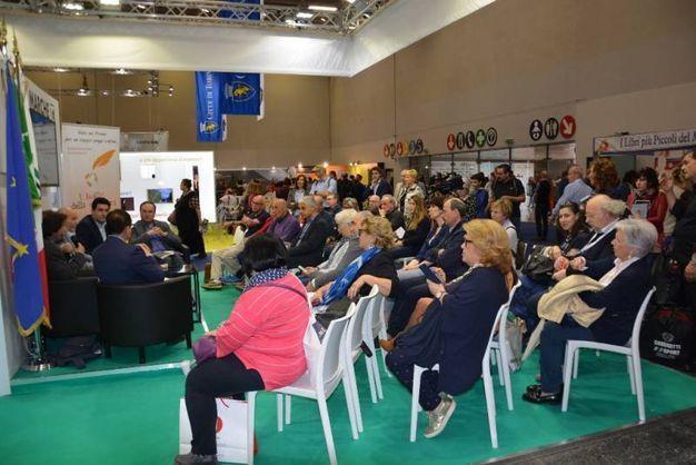 La platea al Salone del libro  di Torino