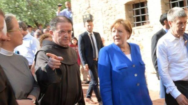 La visita della Merkel