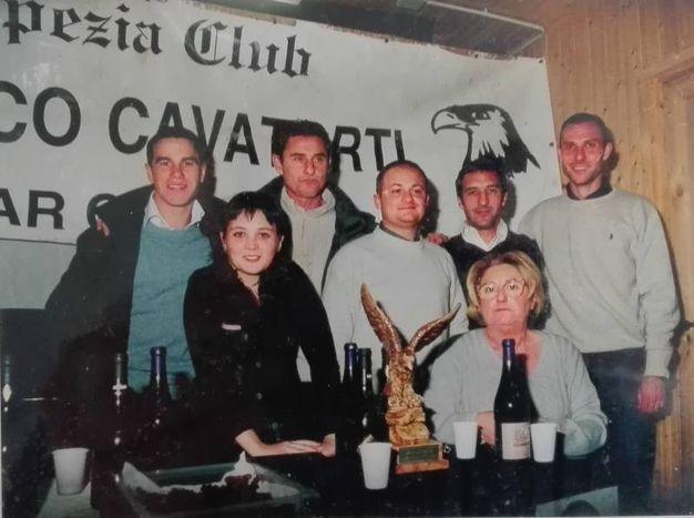 Roberto Bordin premiato nel 2000