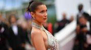 Bella Hadid al Festival di Cannes (Afp)