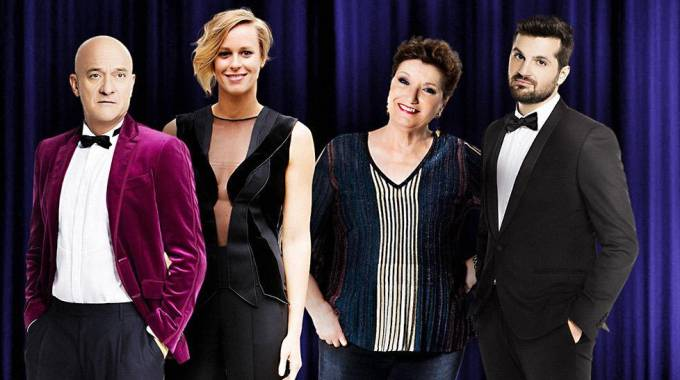 I giudici di 'Italia's got talent' 2018 (Ansa)