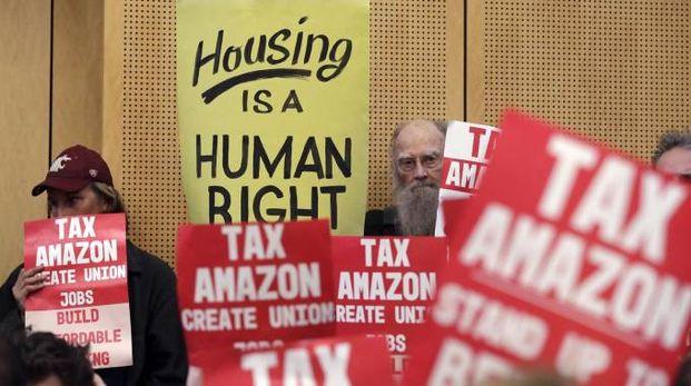"Seattle, approvata l'""Amazon tax"" (Ansa)"