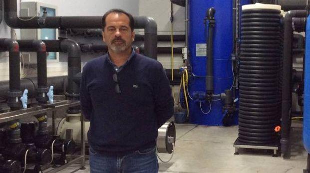 LEADER Luca Bergamini è il presidente della azienda 'Effelle pesca' di Bosco Mesola
