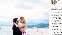 Fedez e Chiara Ferragni a Cannes (Instagram)