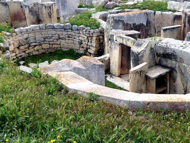 Tempio Tarxien - Malta.