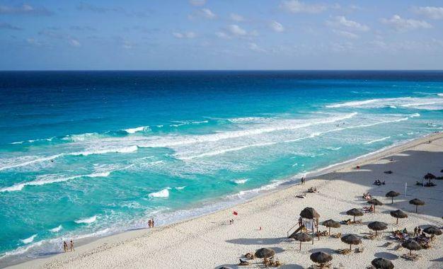 Cancun - spiaggia bianca
