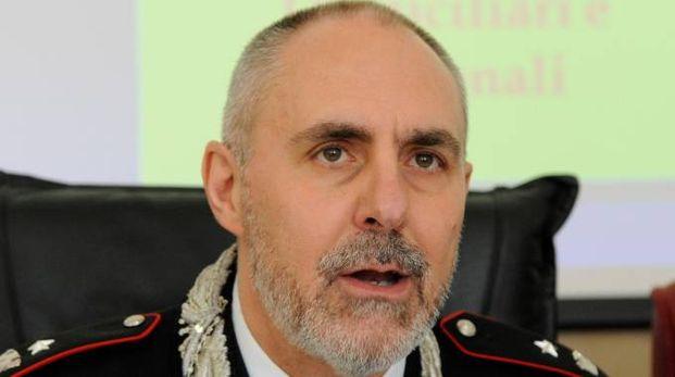 Il maggiore Luigi Ingrosso, comandante  della Compagnia di Macerata