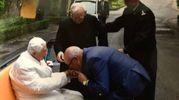 La Misericordia incontra Papa Francesco e Ratzinger