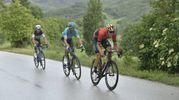 La corsa sotto la pioggia (Lapresse)