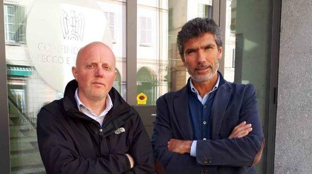 I sindacalisti Emanuele Merazzi e Valter Rossi