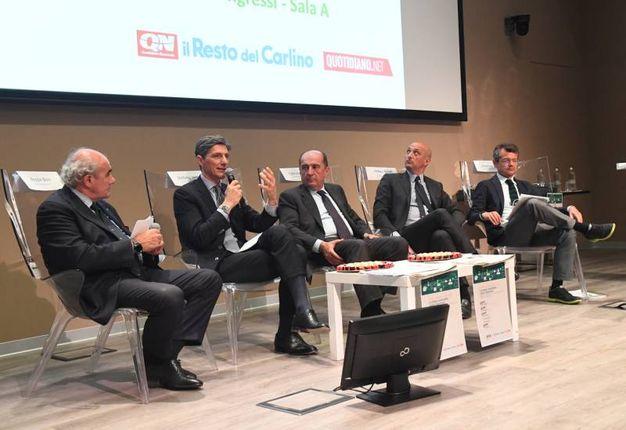 Da sx: Boni, Venier, Togni, Palmieri e Segrè (Foto Schicchi)