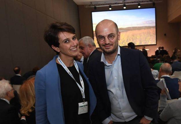 Valentina Castaldini e l'assessore comunale al bilancio, Davide Conte (Foto Schicchi)