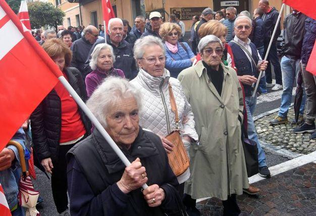 Un momento della manifestazione (Foto Delia)