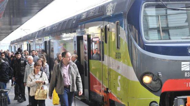 Pendolari in stazione