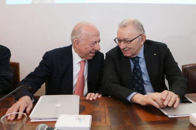 Fedele Confalonieri e Giorgio Squinzi