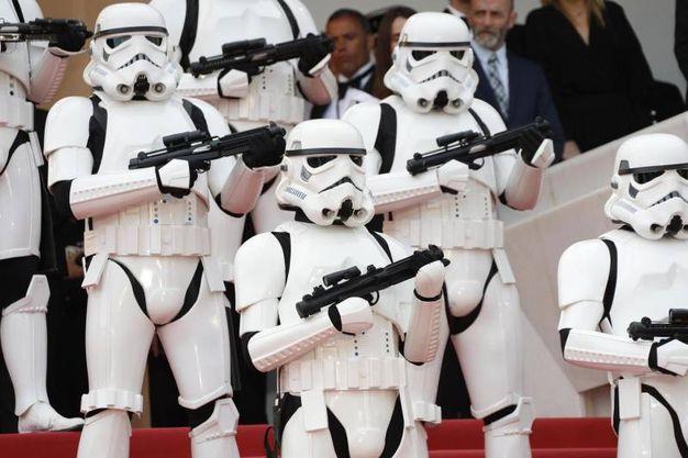 Star Wars sul red carpet (Ansa)