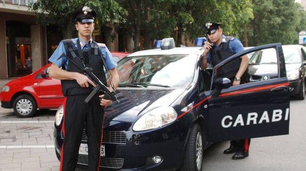 Carabinieri a Pioltello