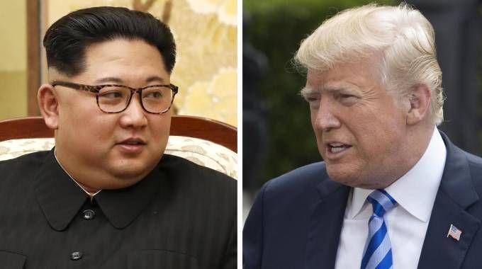 Kim Jong-Un e Donald Trump: l'incontro potrebbe saltare (Ansa)