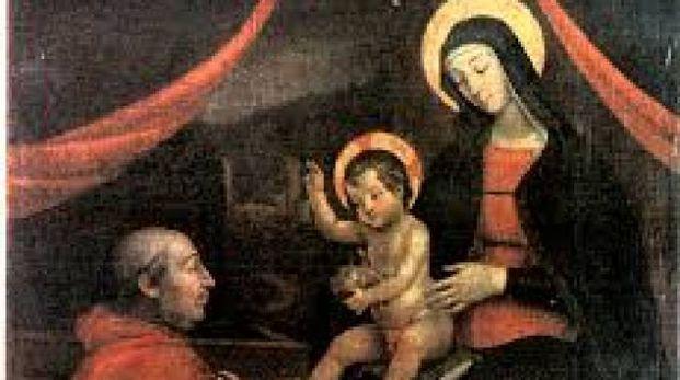Il bambin Gesù delle mani - Pinturicchio