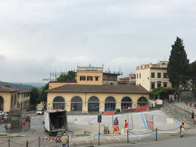 Impruneta, riaperta piazza Buondelmonti