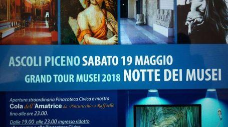 """""""Notte dei musei"""" ad Ascoli"""