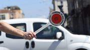 I semafori sono spenti per manutenzione (foto Schicchi)
