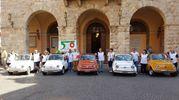 Grosseto, il raduno delle Fiat 500 d'epoca