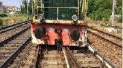 Treno deragliato a Lodi (foto Ansa)