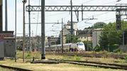 Treno deragliato a Lodi (foto Cavalleri)