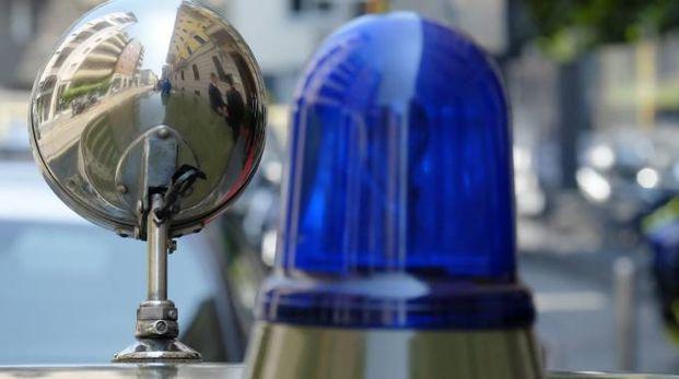 Un lampeggiante di quelli utilizzati dalle forze dell'ordine