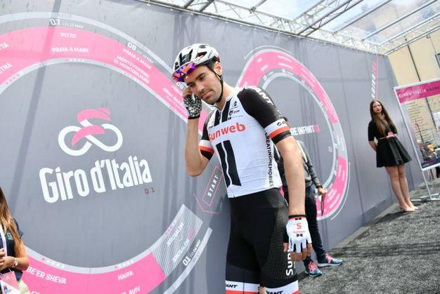 La partenza del Giro da Assisi