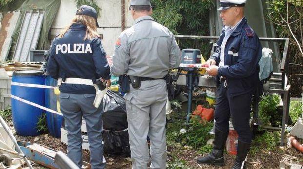 Rimessaggio abusivo scoperto a Campi Bisenzio (Fotocronache Germogli)