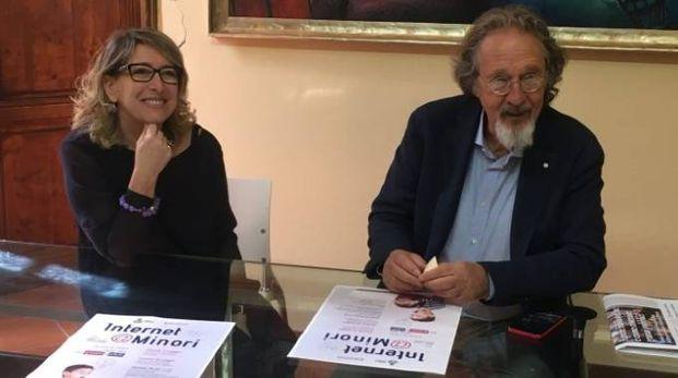 Brogi e l'assessore Bonci durante la conferenza stampa