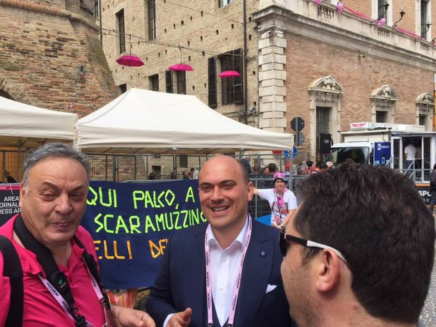 Il sindaco di Osimo (foto Silvia Santini)